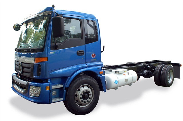Alkane will use Foton cab-chassis from China with North American components, including a propane-fueled engine. Assembly in South Carolina is set for early 2016.