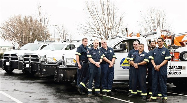 The Bay Area Freeway Service Patrol oversees 72 trucks with operators roaming freeways looking for stranded motorists and debris.Photo courtesy of Bay Area Freeway Service Patrol