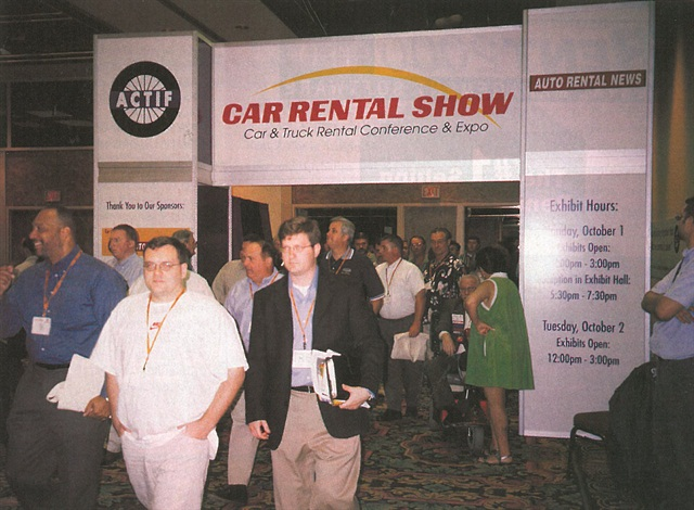 The 2001 Car Rental Show was held at the Riviera Hotel in Las Vegas.