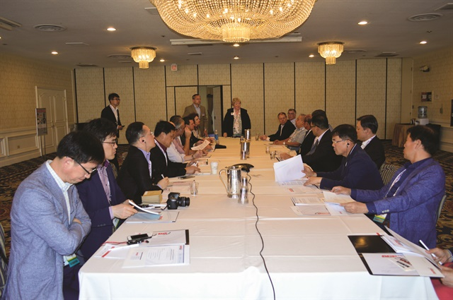 This year featured the first meeting of association directors from around the world, including China, South Korea, Brazil, Mexico, New Zealand, Canada, and the U.S.