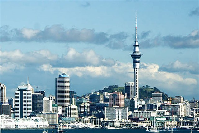 Photo of Auckland New Zealand courtesy of Paul Moss via Wikimedia Commons.