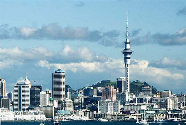 Photo of Auckland New Zealand courtesy of Paul Moss via Wikimedia Commons.