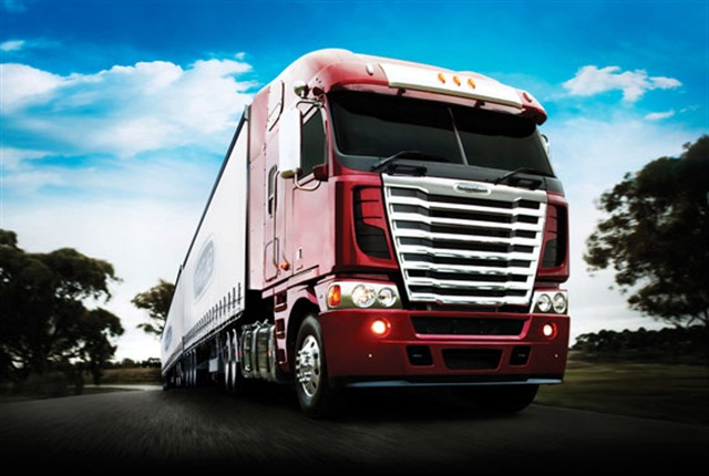 Daimler Trucks North America wants to expand its export business, such as this Australian Argosy.