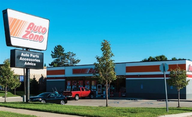"AutoZone locations are arranged in a hub-and-spoke formation. Larger ""hub"" stores are stocked with a variety of products, and are surrounded by smaller satellite stores. (Photo: Getty Images)"