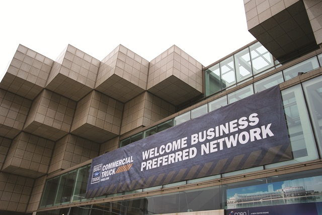 Detroit's Cobo Center, home of the North American International Auto Show, played host to a Ford Vehicle Immersion event for its Business Preferred dealers in June.
