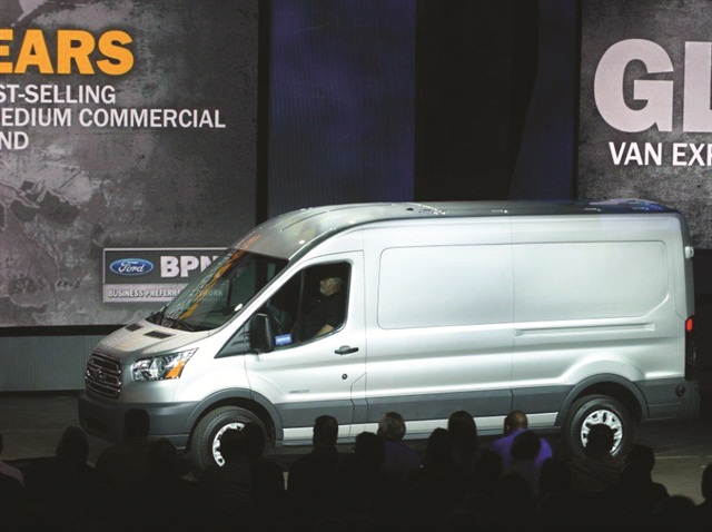 The Ford Transit will be built at Ford's Kansas City Assembly Plant.