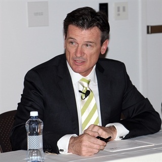 Wolfgang Bernhard, head of Daimler Trucks. Photo by Evan Lockridge
