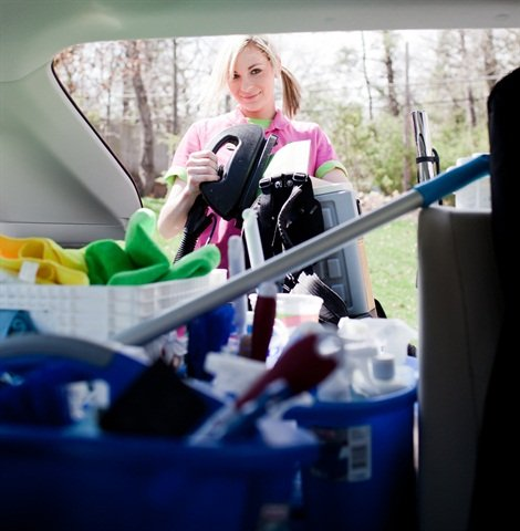 Having company vehicles has helped this cleaning company retain employees since they're no longer racking up miles on their personal vehicles.
