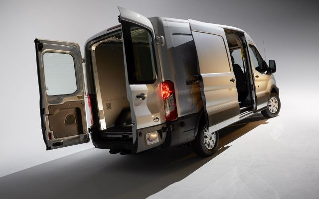 Ford says its full-size Transit became America's best-selling commercial van six months after entering production last year. It replaced the venerable E-series van, though E cutaways and chassis-cabs remain in production.