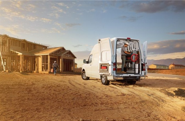 Nissan's NV series of cargo vans use the body-on-frame design but come in high-roof as well as low-roof models.
