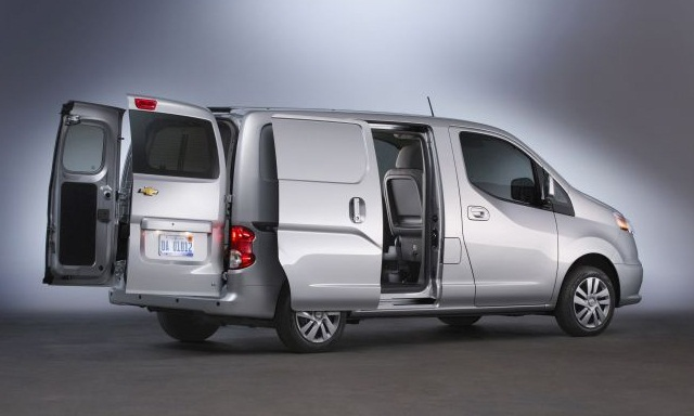 Nissan's NV 200 compact van is also sold by Chevrolet as the City Express.