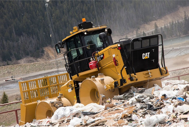 The 816K is designed for multiple machine lives and component rebuilds using Caterpillar sustainable options such as the Reman and Certified Rebuild programs. Photo courtesy of Caterpillar