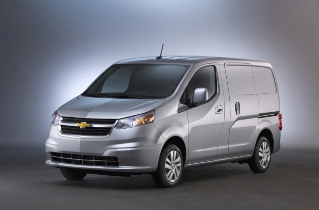 General Motor's small van offering for 2018 is the City Express with 122.7 cubic feet of available cargo capacity. (Photo: GM)