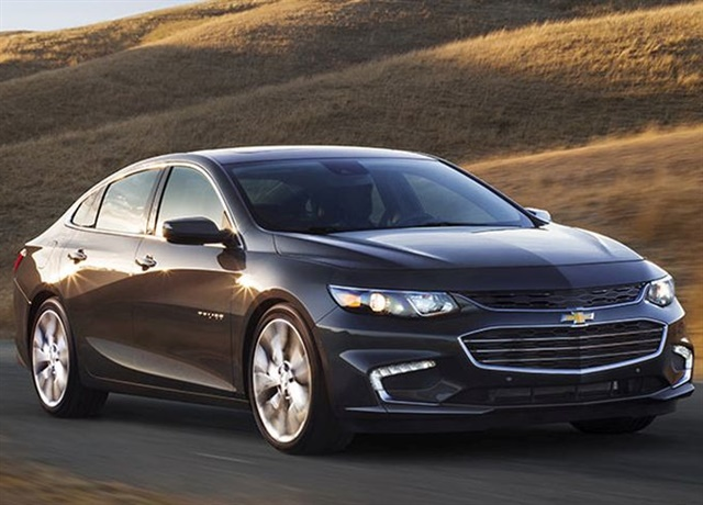Photo of 2017 Chevrolet Malibu courtesy of GM.