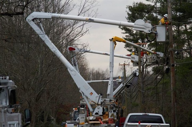 Photo courtesy of Connecticut Light & Power.CL&P received national honors back in January for its response efforts to Hurricane Sandy.