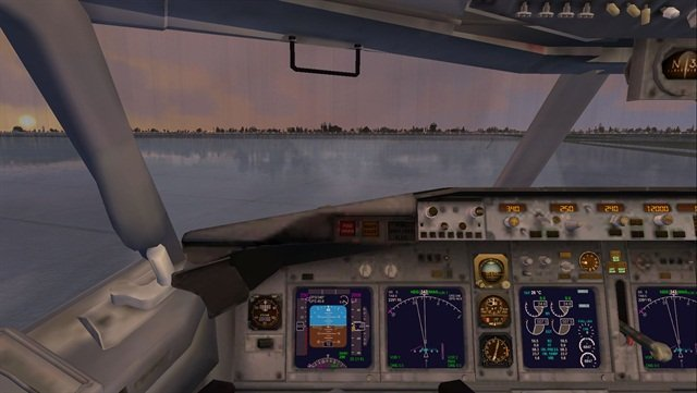 (Flight Simulator X screen grab by Jim Park)