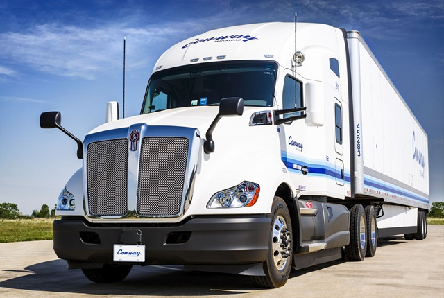 With an average tractor fleet age of 2.1 years, Con-way Truckload has plans to be 100% CARB-compliant by year end after installing more than 2,000 skirts on new and existing trailers in 2015.