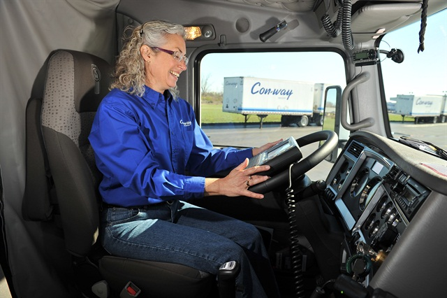 Con-way Truckload ended 2013 with a driver turnover rate of 66% and part of their success in retaining their driver workforce is through the different tools and programs it offers.