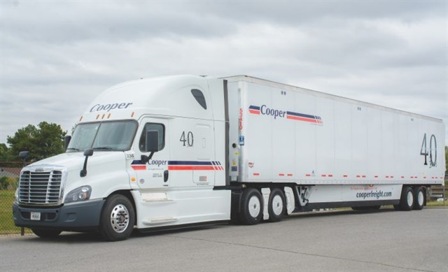 Cooper Freight celebrated its 40th anniversary last year. Its 8.5-mpg fleet average would no doubt astound its founders. Photos: Cooper