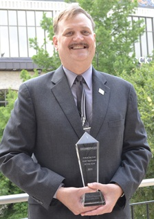 Richard Battersby, CAFM, CPFP, director of Fleet Services for the University of California, Davis is this year's Public Sector Fleet Manager of the Year.
