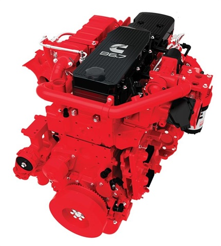 Cummins 2017 B6.7 Engine (Image courtesy of Cummins)