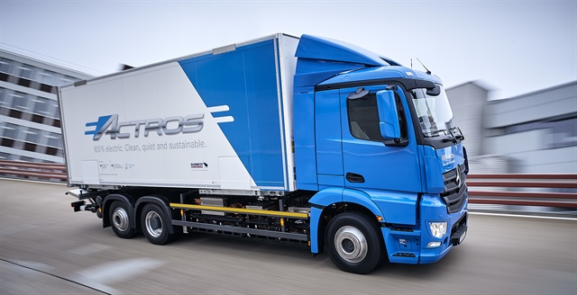 Daimler Testing Heavy-Duty Electric Actros Truck - Fuel