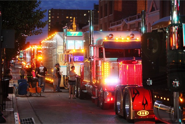 A parade on Friday night is part of the festivities. This year it'll be on June 10. Judging will be June 9-11.
