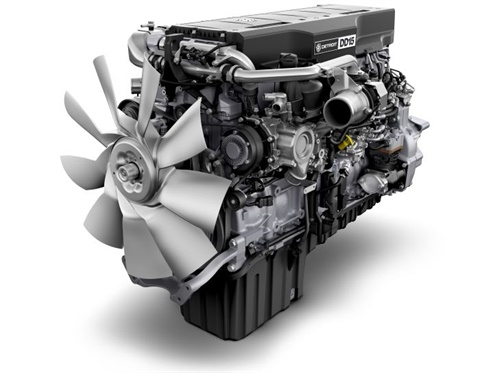 Detroit will stay the course for 2017, having made its engines GHG17 compliant more than a year ago. Photo Daimler