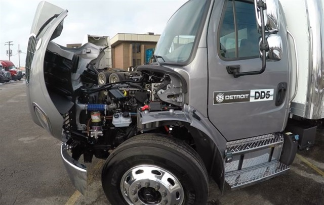 Detroit's new DD5 diesel is a 5.1L engine designed for urban delivery/service applications in Class 5-6 Freightliner M2 106 trucks. Photos: Jack Roberts