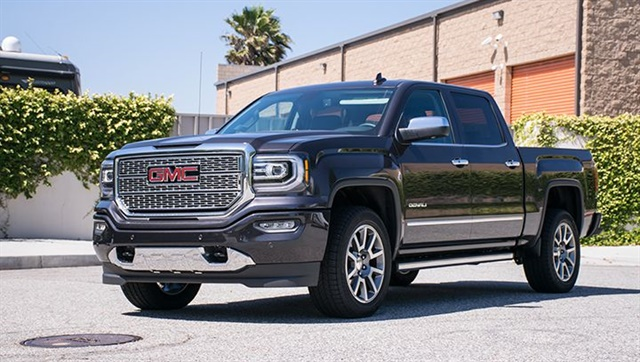 Photo By Vince Taroc The 2016 Gmc Sierra 1500 Denali S
