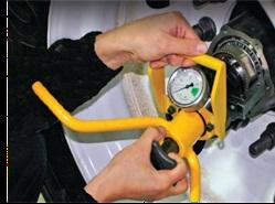 Dr. Preload's bearing adjustment tool provides a precise range to set bearing preload.