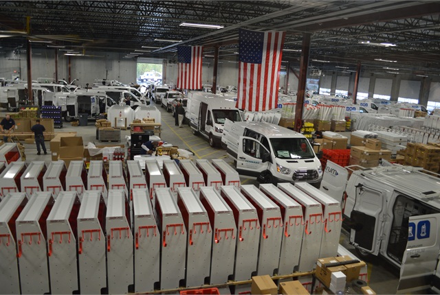 The Auto Truck Group's new Kansas City facility will be handling ship thru for Ford's new Transit and the F-150. Photo: Chris Wolski