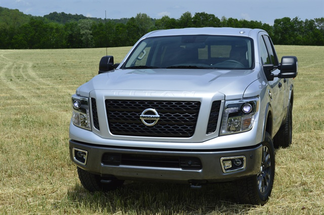 The Nissan Titan XD gasoline joins the Titan XD diesel to round out the truck's engine lineup. Photo: Chris Wolski