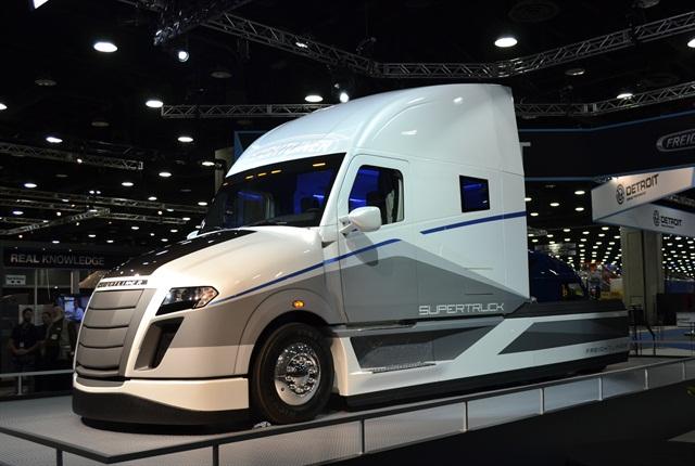 Freightliner's SuperTruck. Photo: Stephane Babcock