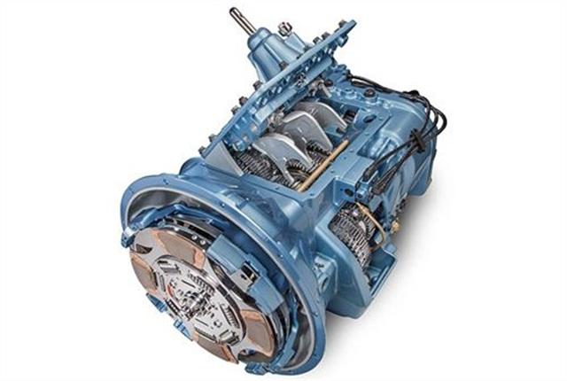 Fuller Advantage manual transmission. Photo courtesy of Eaton.