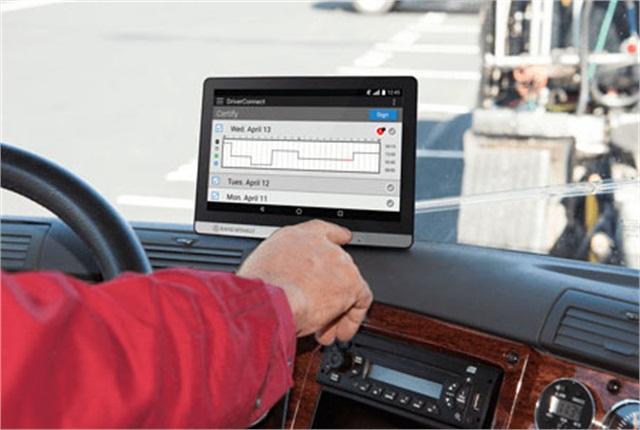 Drivers can use existing Android smartphones or tablets, including Rand McNally's TND tablet.