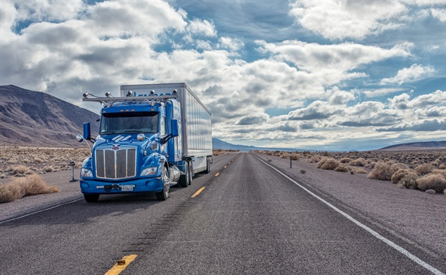 Embark's self-driving truck just completed a five-day, 2,400-mile journey across the U.S. Photo: Embark