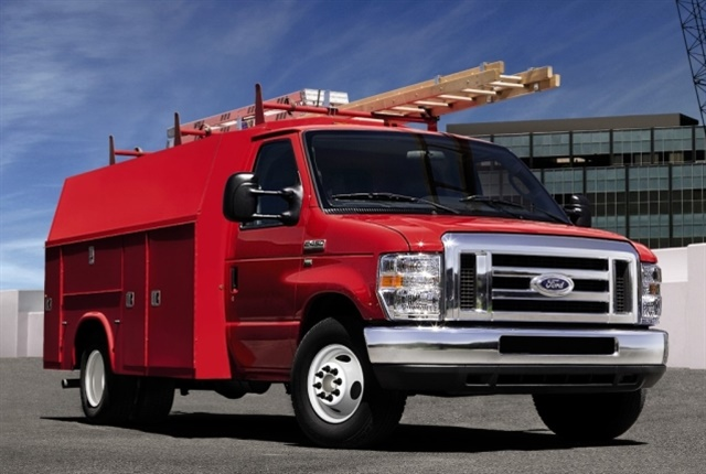 E-Series will be available in 2018 as either the cutaway or stripped chassis with multiple packages. (Photo: Ford Motor Co.)