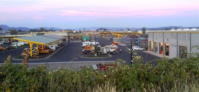 The Eugene Water & Electric Board (EWEB) fleet consists of approximately 320 vehicles and has recently outsourced its parts room to NAPA IBS. (PHOTO: EWEB)