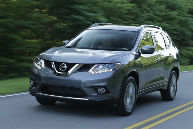 2014 Nissan Rogue photo courtesy of Nissan.