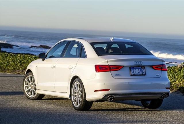 Photo of 2015 Audi A3 courtesy of Audi.