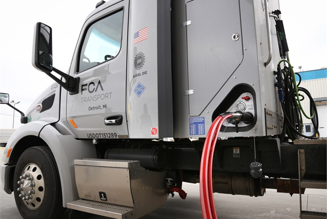 FCA Transport says its Detroit-based tractor fleet is converting completely to CNG.