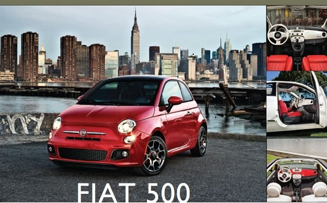 The 2013 Fiat 500.