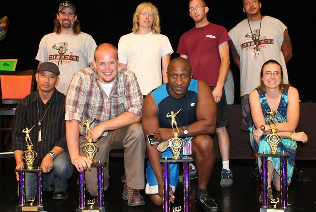 """Eleven professional truck drivers competed for the title """"Fittest of the Fleet"""" during Prime Inc.'s annual company picnic on Aug. 31."""