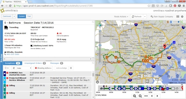 Telematics in Mixed Truck Fleets: Equipment and Reporting