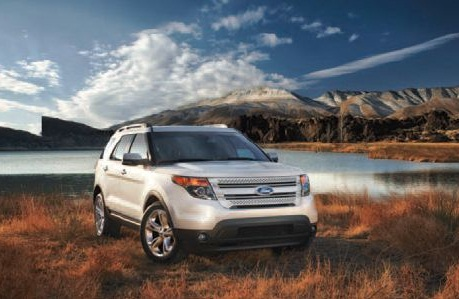 The 2013 Ford Explorer won the Large Crossover category.