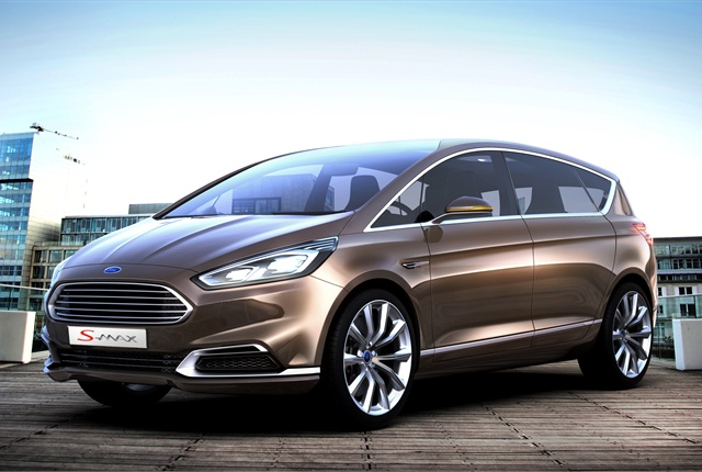 The Ford S-MAX Concept. Photo courtesy Ford.