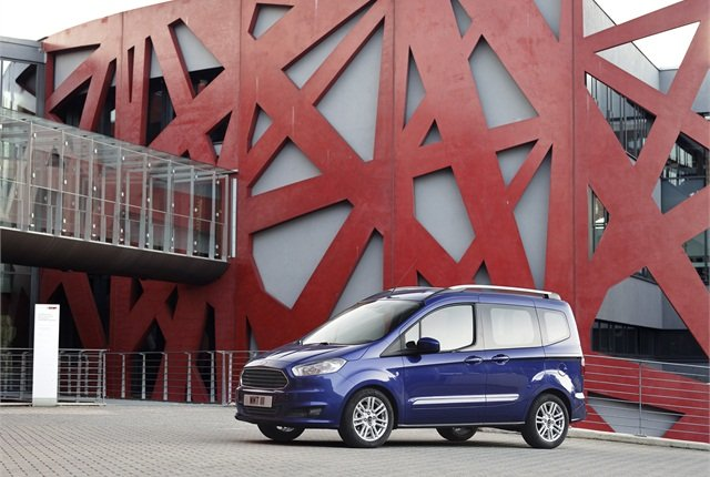 The Ford Tourneo Courier.Photo courtesy Ford.