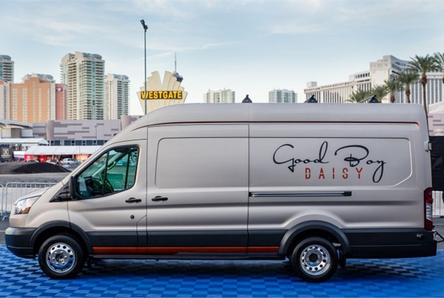 Photo of Transit T350 cargo van courtesy of Ford.