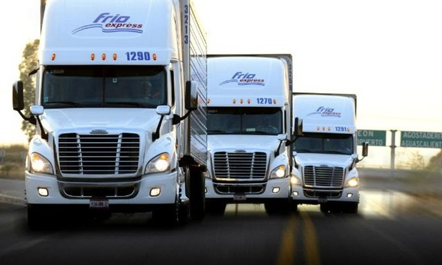Frio Express hauls reefer and dry freight domestically and for cross-border interlining. Photo: Frio Express